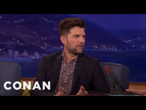 Adam Scott's Mexican Room Service Sushi Made Him Sick   CONAN on TBS