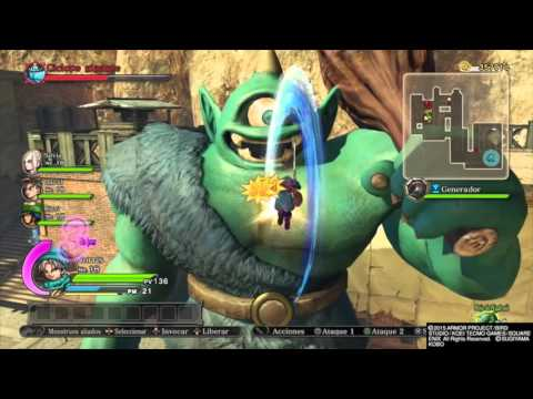 Dragon Quest Heroes PS4 l Guide to defeat fast ( Ciclope gigante )