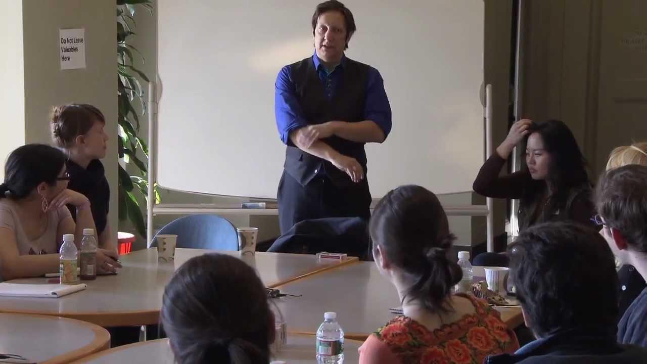 Robert Lepage: MIT Student Workshop, Spring 2012