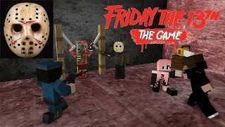 Monster School FRIDAY THE 13TH CHALLENGE Minecraft Animation