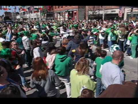 St. Patrick Society Grand Parade XXIV 2009 Rock Island Illinois Davenport Iowa