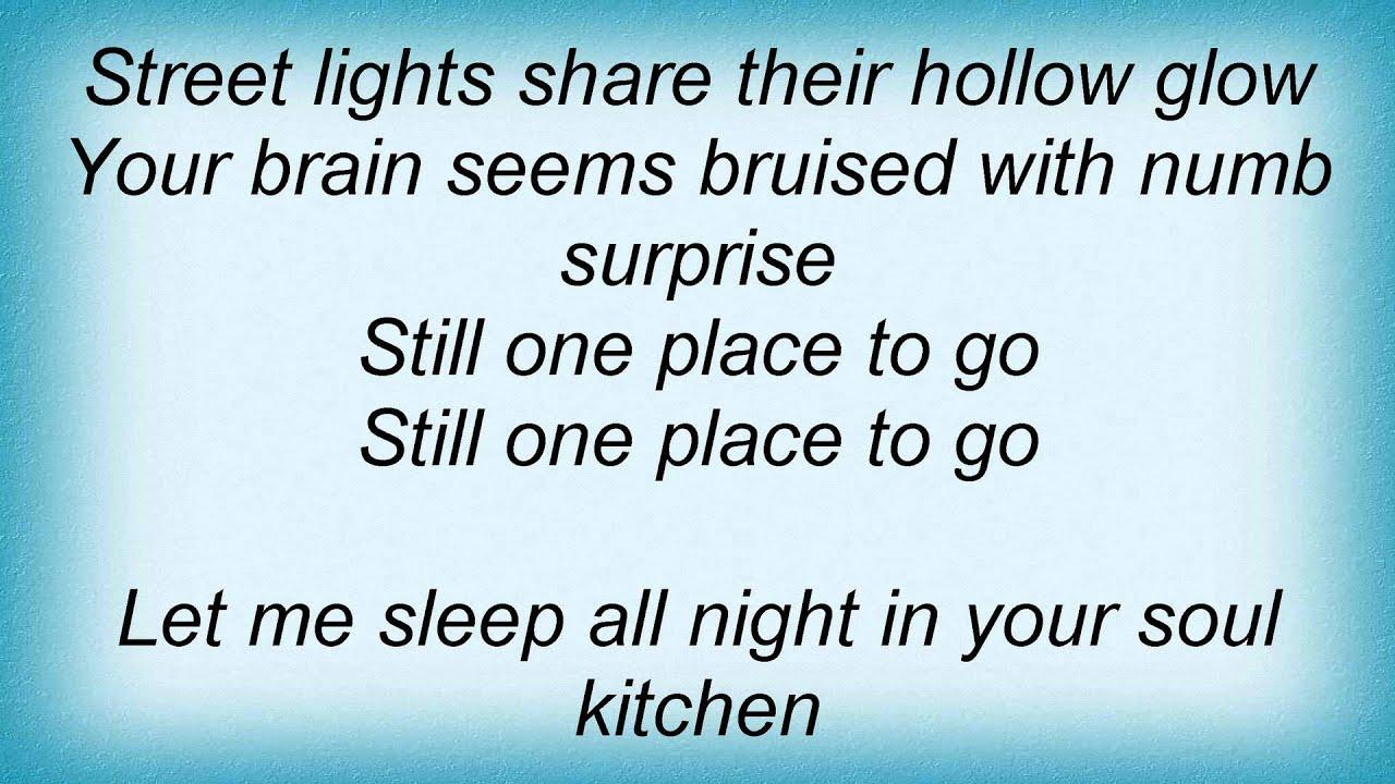 17029 Patti Smith - Soul Kitchen Lyrics - YouTube