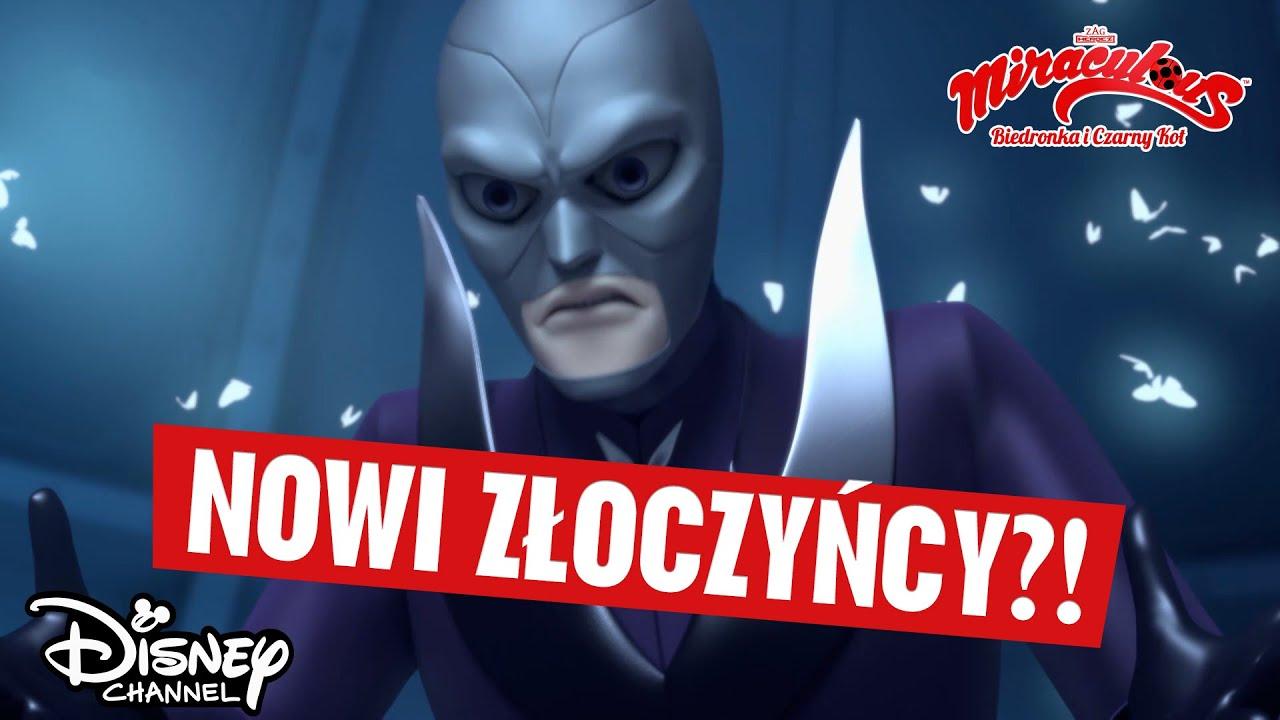 ???? Pomieszanie złoczyńców | Miraculous: Biedronka i Czarny Kot | Disney Channel Polska