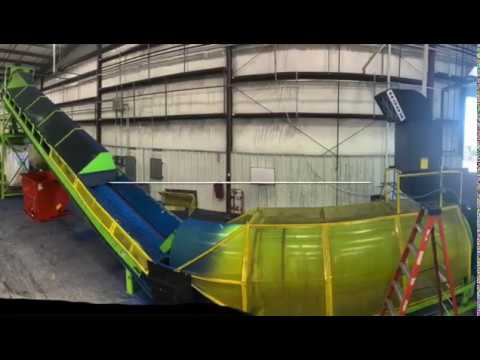 ECO Green Equipment | Línea ECO de caucho coloreado | Trituración de llantas