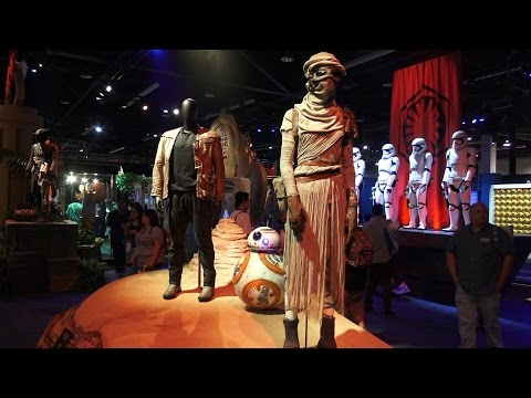 Disney/Marvel/Lucasfilm/Pixar Studios Exhibit - 2015 D23 Exhibit - 동영상