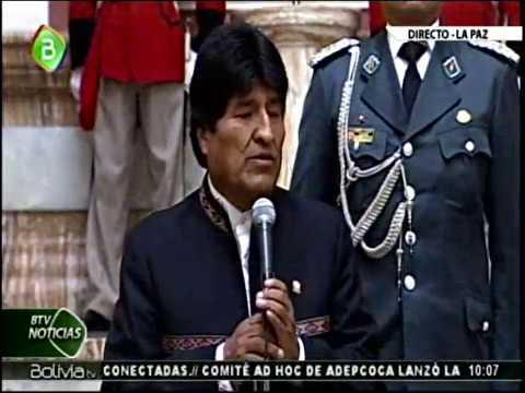 Conferencia de Prensa de Evo Morales: El Mar para Bolivia es un asunto de vida o muerte