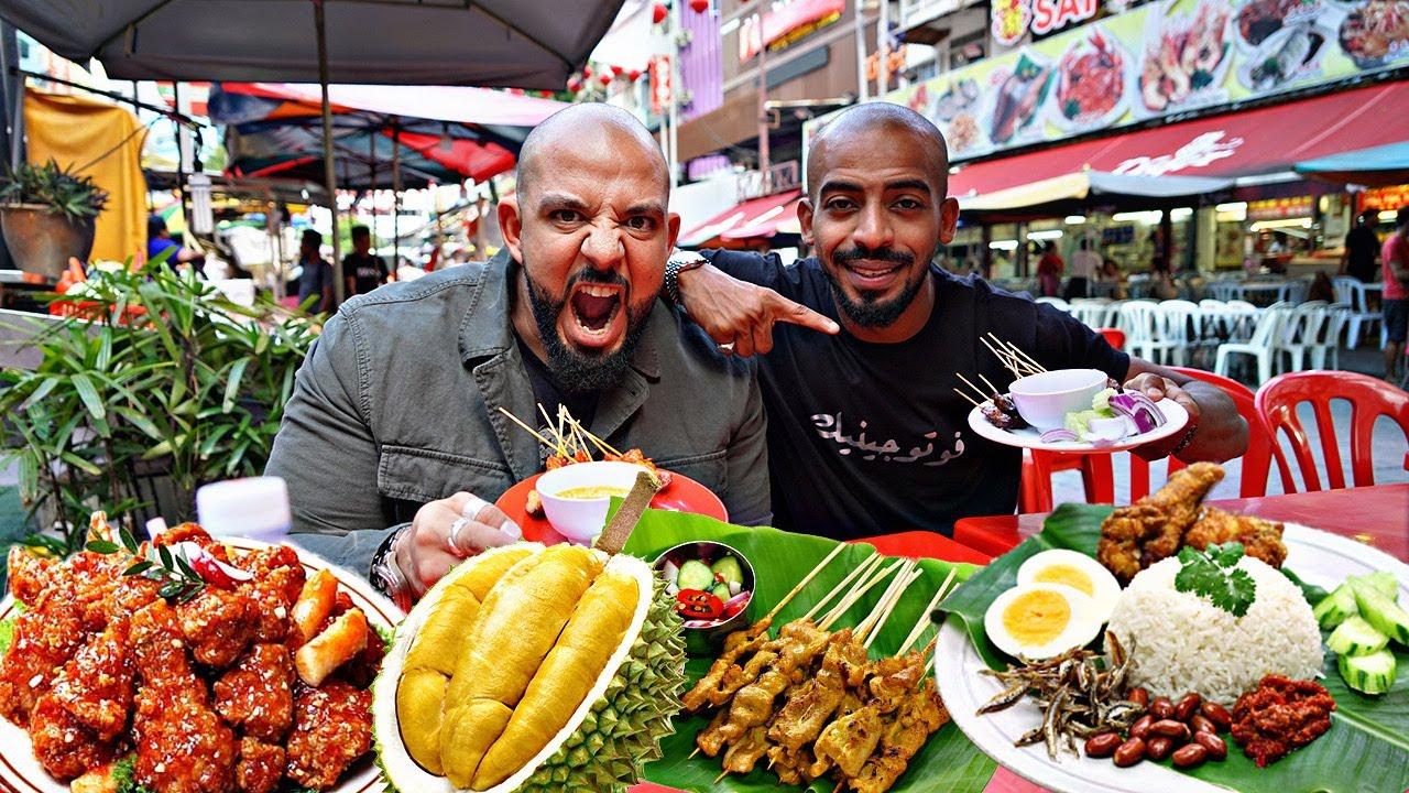 تحدي اكل الشوارع في ماليزيا Malaysian Street Food