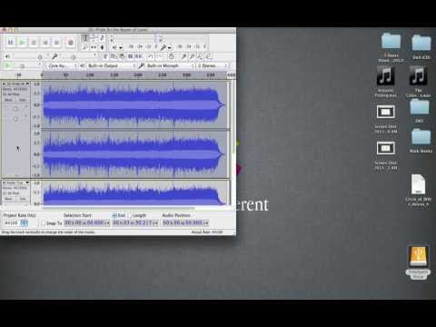Vocal Isolation in Audacity