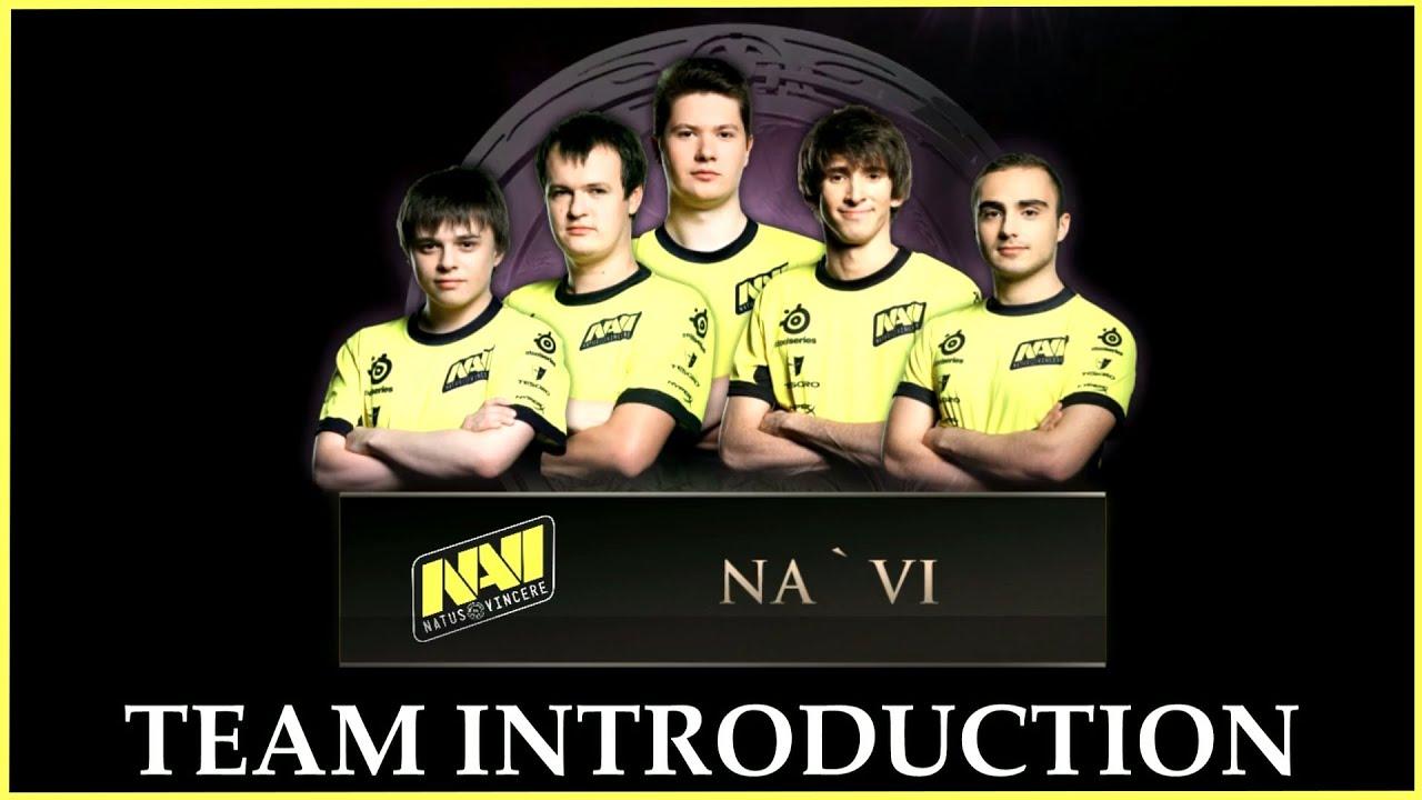 NaVi Team Introduction TI4 Dota 2 YouTube