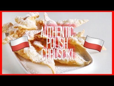 How to make Polish Chrusciki