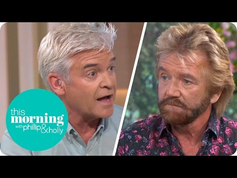 Noel Edmonds Defends Views On Cancer Causes To Sceptical Phillip | This Morning