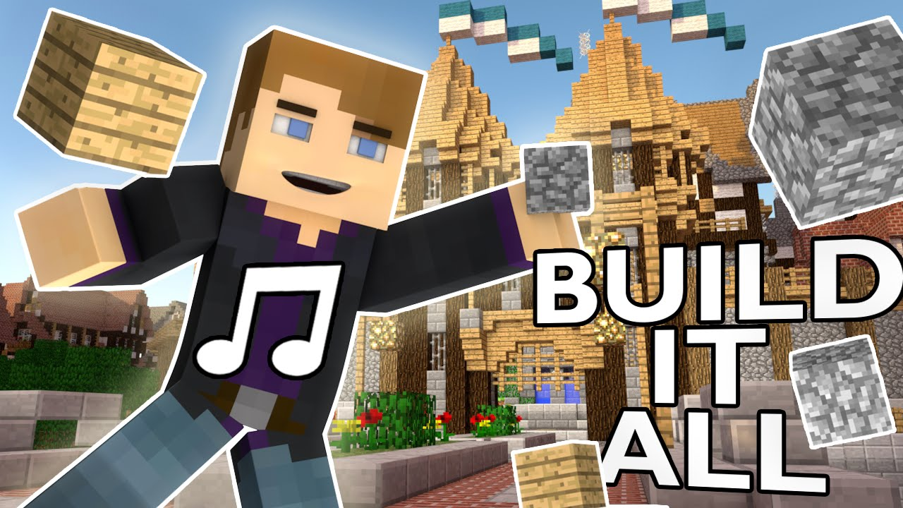 Build it all minecraft parody of taylor swift shake for What to do to build a house