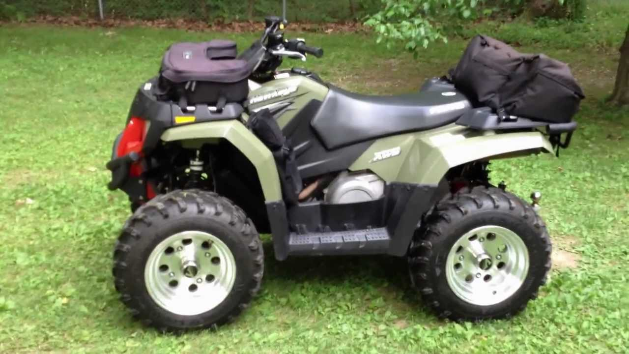 quad polaris hawkeye 300 e 4×4