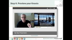 How to Create a Knovio Online Presentation