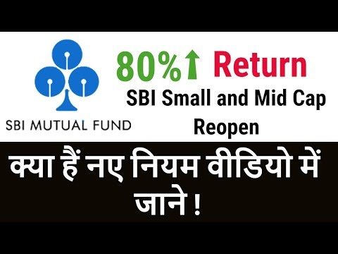 Big Update For SBI Mutual Fund Investors | SBI Small & Mid Cap Will Reopen | Full Detail in Hindi
