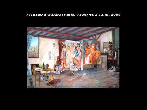 Inside Picasso's Studio by Damian Elwes