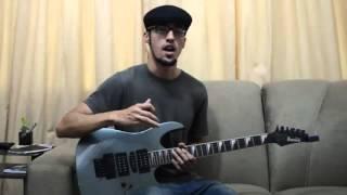 Aula de Guitarra Iniciantes Riff Fácil do Red Hot