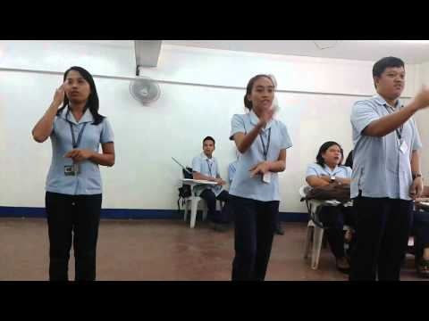 Dhevin (SPED 3x2) Sign language / Call me maybe