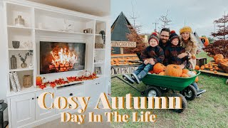 A COSY AUTUMN DAY | DAY IN THE LIFE VLOG| KATE MURNANE AD