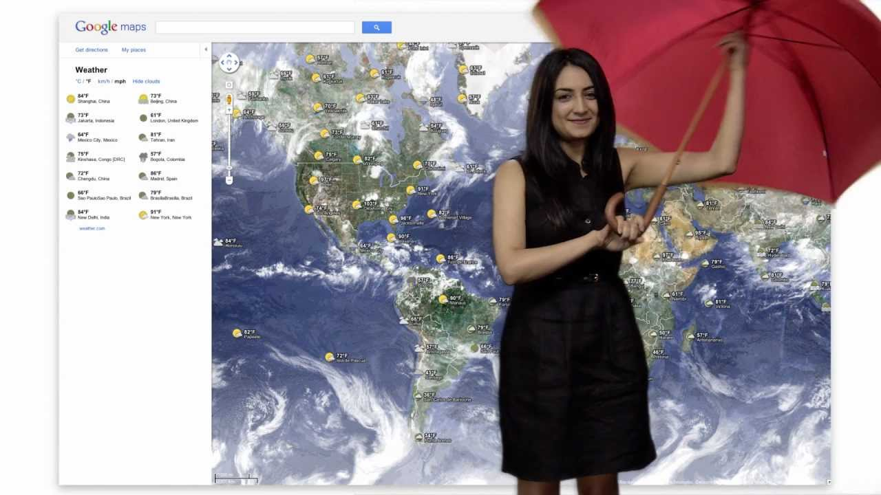 how to get weather on google now