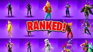Ranking ALL 138 Epic Fortnite Skins! (Every Fortnite Skin Ranked)