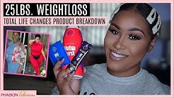 25LBS WEIGHTLOSS | TOTAL LIFE CHANGES PRODUCT BREAKDOWN | IASO TEA, NUTRABURST & NRG