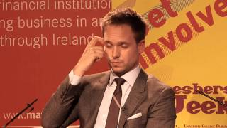 Patrick J. Adams (Suits) discusses working with Game of Thrones' Michelle Fairley on Suits