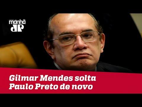 Livre De Novo! Gilmar Mendes Solta Paulo Preto Em Menos De 24 Horas