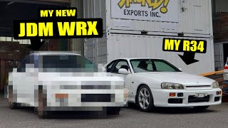 homepage tile video photo for I BOUGHT ANOTHER SUBARU! JDM Subaru WRX Reveal