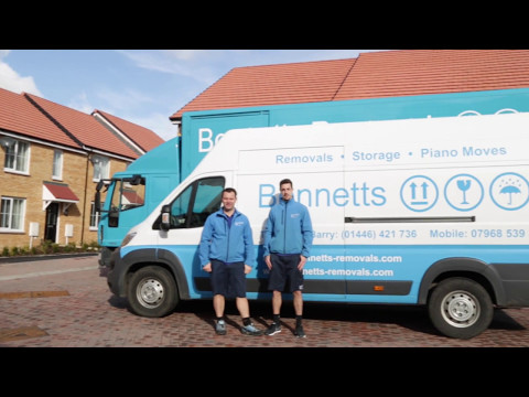 House moving with Bennetts Removals of...