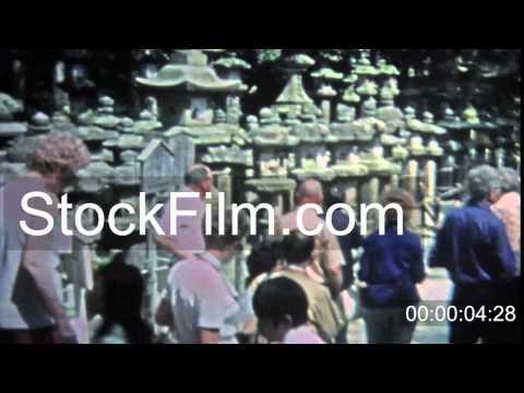 1973: Seniors touring southeast Asian ancient temple ruins. SINGAPORE