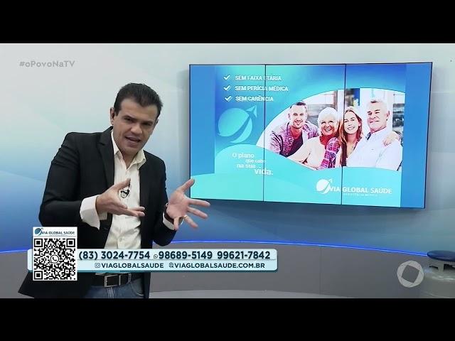 Via Global Saúde - 20 04 2021- O Povo na TV