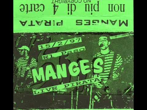 Italia Punk anni 90; The MANGES (La Spezia) - Live Pirata 15/02/1997 Torino - El Paso