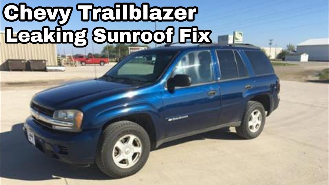 2003 chevy trailblazer parts diagram abb acs 600 wiring leaking sunroof fix - youtube