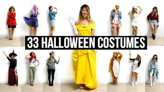 33 Last Minute DIY Halloween Costumes Ideas!
