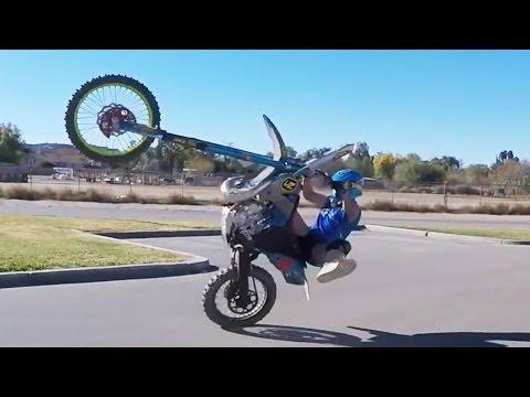 Dirtbike Trials & Stunts with Joey Mac