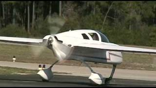 Flying in an experimental aircraft
