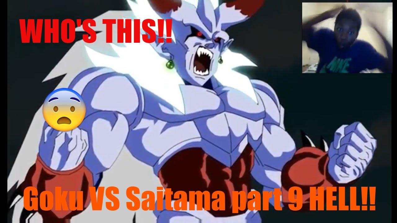 Goku vs Saitama Part 9 Hell Series Finale DBZ vs OPM REACTION!!! THE EVIL GODS!!! - YouTube