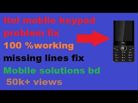 Itel it 5230+5231 keypad jumper solution 100000% working/Mobile solutions bd