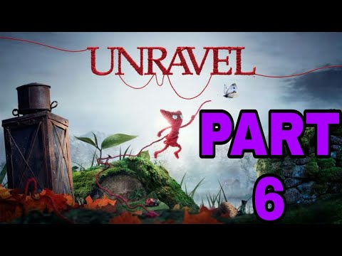 Unravel : Game Play - Down in a hole #Part 6  