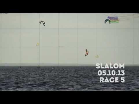 Kiterace slalom cup, Pirita @ 05.10.13 - Race 5 (including Outro)
