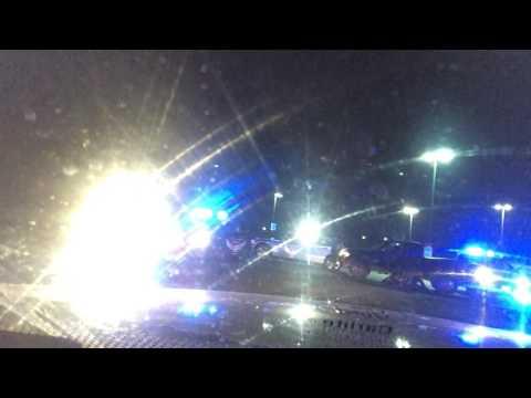 Logan Ohio Police Assisting Ohio State Highway Patrol on Pursuit.