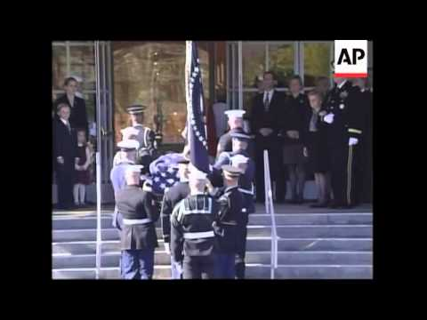 Funeral service for former President Gerald Ford