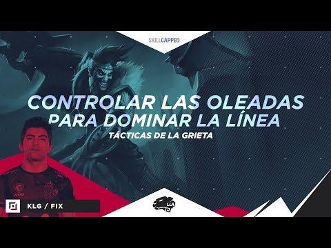Tácticas de la Grieta: Controlar las oleadas para dominar línea | Gameplay | League of Legends