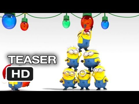 Despicable Me 2 Official Teaser - Merry Christmas (2013) - Steve Carell Movie HD