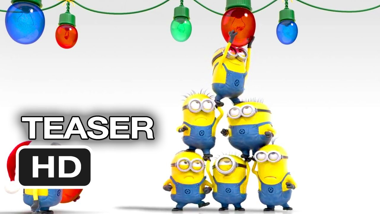 despicable me 2 official teaser merry christmas 2013 steve carell movie hd youtube