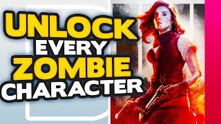 How to unlock ALL Chaos Crew 'Zombie Character Skins' in Black Ops 4 Blackout