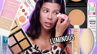 I TRIED ALL THE HOT NEW DRUGSTORE MAKEUP... hits and misses!