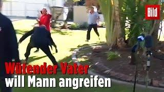 Polizist schnappt Verdächtigen – während TV-Interview!