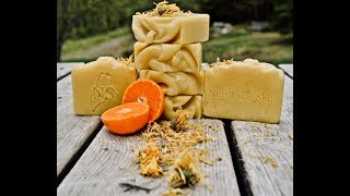 Orange Blossom Soap with J. Cyr